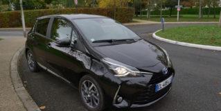 Essai vidéo Toyota Yaris hybride 2017