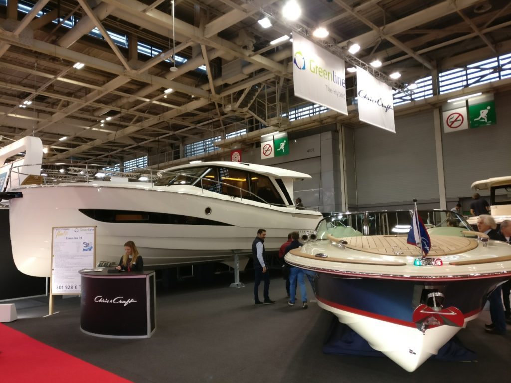 Greenline 39 hybrid le premier yacht hybride sur le march for Salon bateau paris