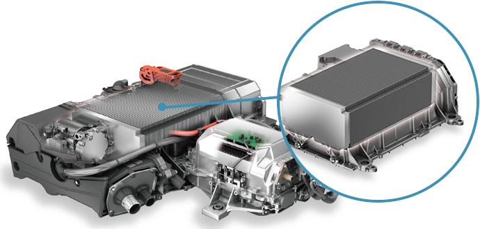 Toyota Mirai Pile à Combustible