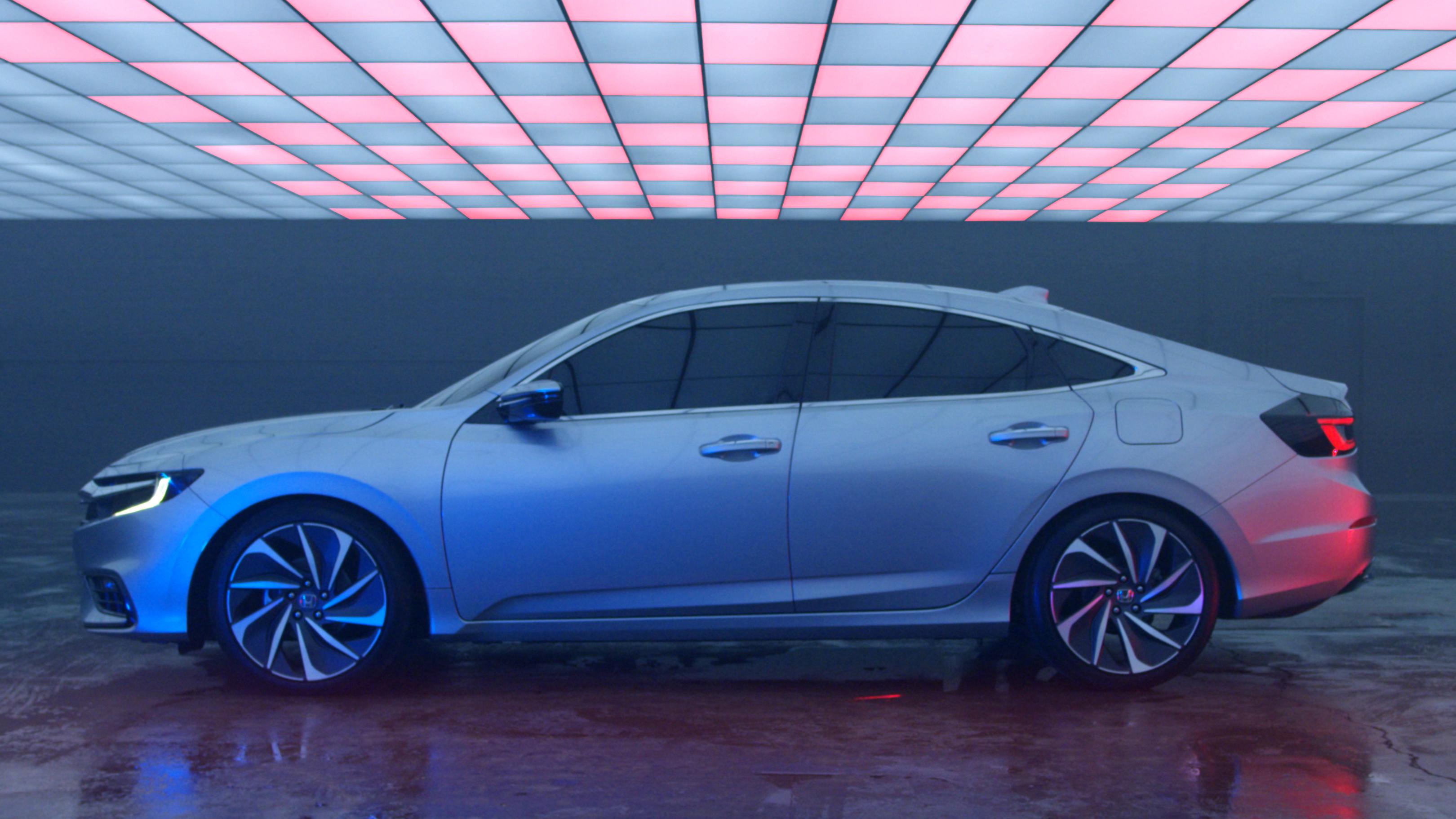 La Honda Insight se dévoile avec pour cible la Prius !
