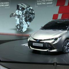 Toyota Auris 3ème génération dévoilée au salon de Genève 2018