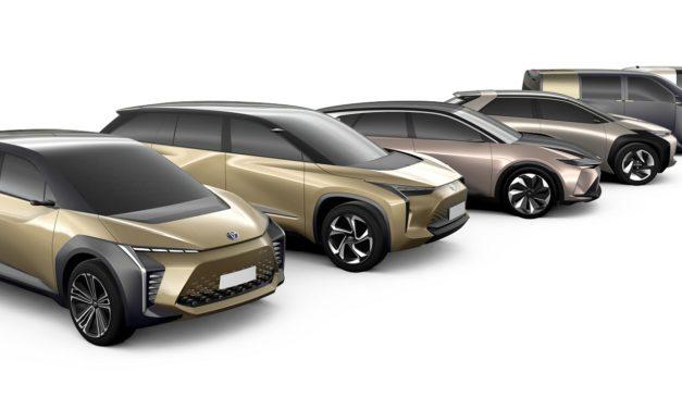 e-TNGA : Toyota dévoile leur gamme de voiture électrique
