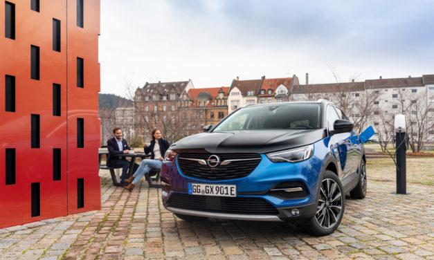 Essai-éclair de l'Opel Grandland X Hybrid4