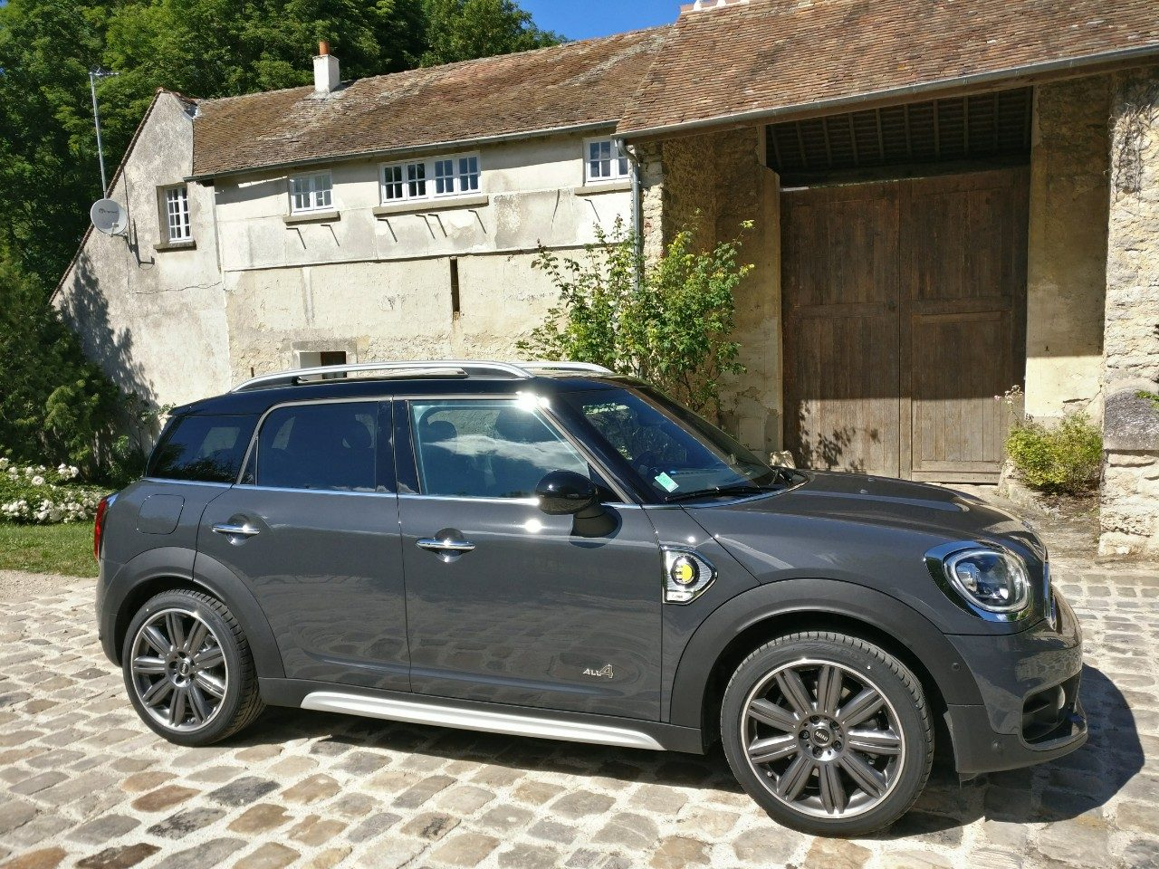 essai mini countryman se 2017 une hybride rechargeable chic british. Black Bedroom Furniture Sets. Home Design Ideas